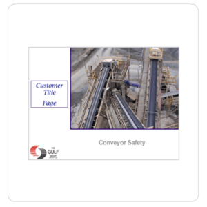 Basic Conveyor Safety Training